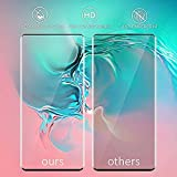 [2Pack] Samsung Galaxy Note 10 +/Note 10 Plus Screen Protector, Tempered Glass Anti-Scratch, Bubble Free and Case Friendly, 3D Curved Edge, Screen Protector Compatible Note 10 +/Note 10 Plus