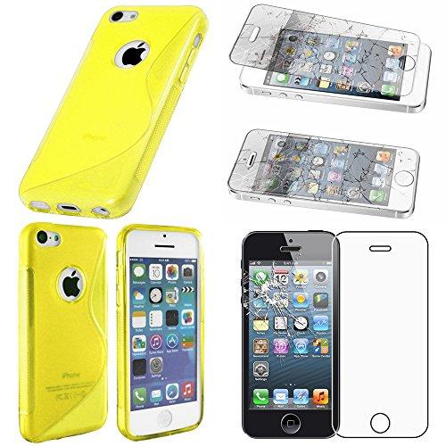 ebestStar - Funda Compatible con iPhone 5C Carcasa Gel Silicona Gel TPU...
