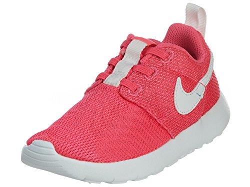 Nike Roshe One (TDV), Zapatos de recién Nacido para Bebés, Rosa/Blanco (Hyper Pink/White), 27