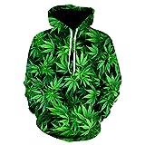 CYGGLL Colorful Mushroom 3D Fashion Jacket Sudadera con Capucha Tamaño Wombat Cap Unisex Pullover Primavera Y Otoño Ropa Deportiva-L