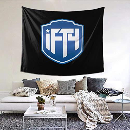 GEHIYPA Ifty Team Logo Awall Hanging Tapestry 3d Printing Wall Poster Decor For Room Living One Size
