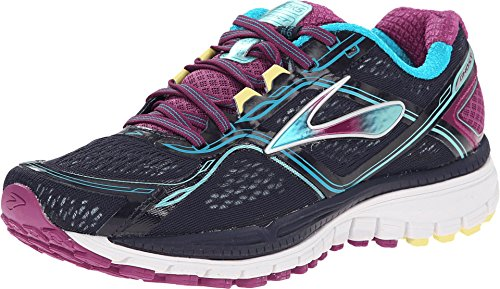 Brooks Ghost 8 - Zapatos para mujer, talla 5, color: Peacoat/Hollyhock/Capri Breeze
