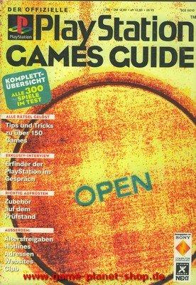 Playstation Games Guide Lösungsbuch Cheat für 300 Playstation Spiele Erstauflage