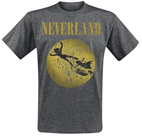 Peter Pan Neverland Camiseta Gris/Melé L