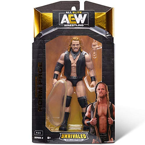 """AEW All Elite Wrestling Unrivaled Collection """"Hangman"""" Adam Page - 6.5-Inch Action Figure"""