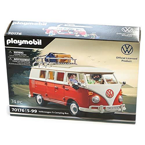 Volkswagen 7E9087511A Bulli T1 Camper Campingbus Heritage Kollektion, Rot