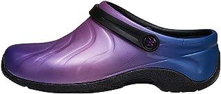 حذاء حريمي من AnyWear مصمم للعناية بصحة منزوع، جلد لونه يتلاشى، مقاس 5 متوسط أمريكي
