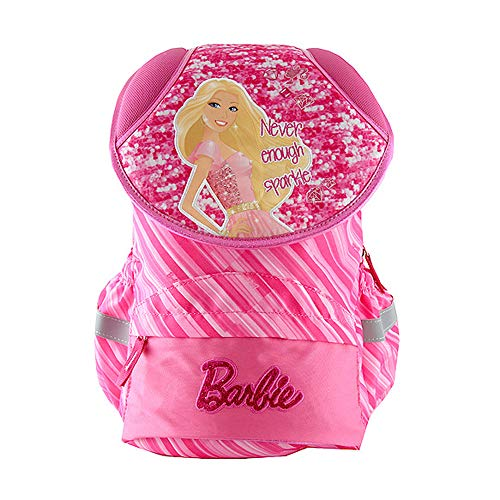 Target Barbie Never Enough Sparkle Backpack Zaino, 42 cm, Rosa (Pink)