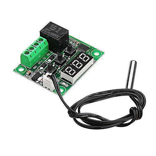 Sensor & Detektor-Modul W1209 DC 12 V -50 bis +110 Temperatursensor Kontrollschalter Thermostat Thermometer für Arduino – Produkte, die mit offiziellen Arduino Boards funktionieren, 2 Stück