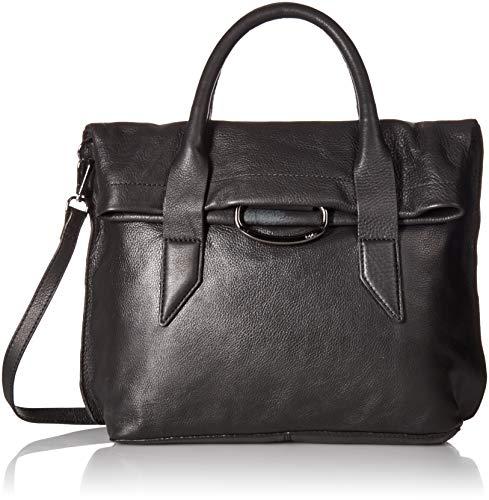 Kooba Handbags Montreal Top Handle Satchel with Detachable Crossbody Strap,  Black, One Size