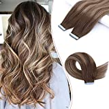 Creamily Tape in Human Hair Extensions...