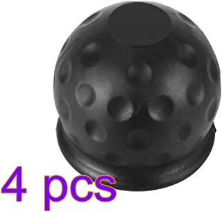 Towball Protecter Car Supplies Remolque de caravana universal Tapa de la cubierta de la bola de remolque Reemplazo del enganche de goma