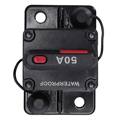 LKK-KK 12V / 24V del coche de audio marino portafusibles 50A restablecimiento manual Circuit Breaker