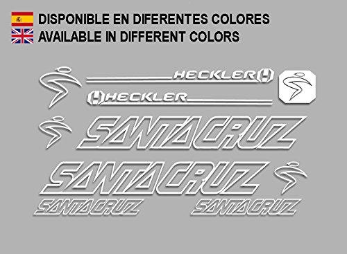 Pegatinas Santa Cruz Heckler F140 Vinilo ADESIVI Decal AUFKLEBER КЛЕЙ MTB Stickers Bike