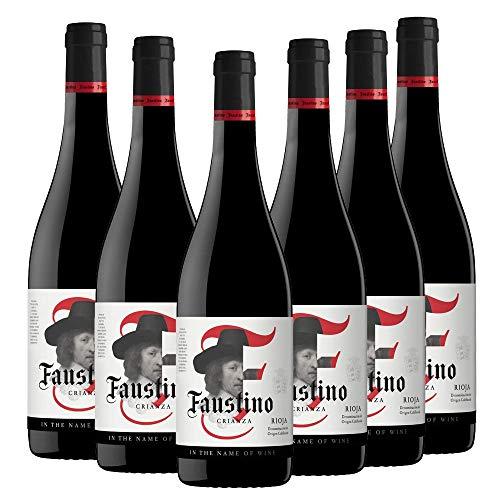 Vino Tinto Rioja Faustino Crianza Itnow | 6 Botellas