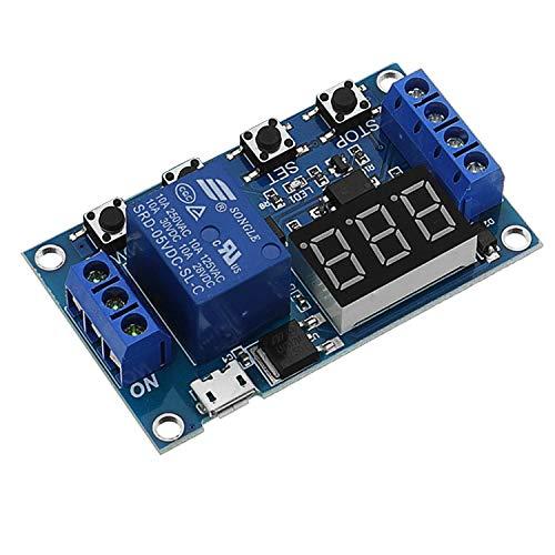 Arduino herramientas de diseño electrónico y mater Módulo de conmutador de relé CTJ LDTR-WG0199 DC 6V a 30V Una forma de energía retardo a la desconexión Desconexión del disparador retraso del ciclo d