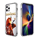 iPhone 12 Pro Max Case Clear Case Cover iPhone Case (The-Lion-King)