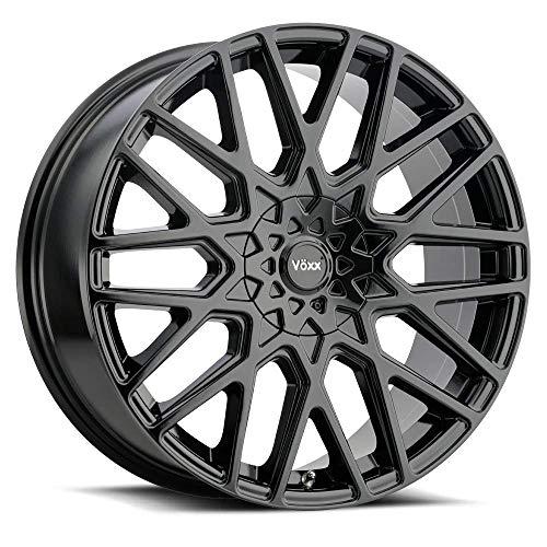 "Voxx 4 Wheel Rims 17"" Inch Forti 17x7.5 40mm 5x110/115 Gloss Black"