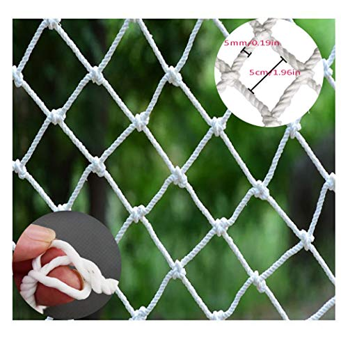 Sale!! Baby Safety Outdoor Railing Net Protective Mesh BHH Cargo Cover Net Rope Protective Plant Netting Building Construction Safety Net Anti-fall Nylon Rope Net Hanging Clothes Hammock Decoration Swing Rop
