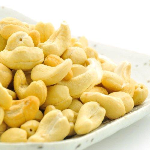 インド産 カシューナッツ 生 うす塩 お徳用 500g