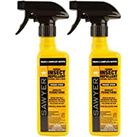 2-Pack Sawyer Premium Permethrin Insect Repellent 12-oz. Bottle for Clothing, Gear, & Tents