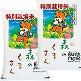 令和元年産 熊本産 特別栽培米 森のくまさん JAうき 10kg (5kg×2袋) (白米精米(精米後約4.5k×2))