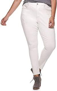 Mudd Flex Stretch High Rise Jean Leggings, Size 15