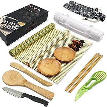 AYAOQIANG 14-Pieces Sushi Kit