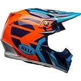 Bell caschi moto 9MIPS District, blu/arancione, taglia L