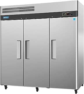 turbo air 3 door freezer