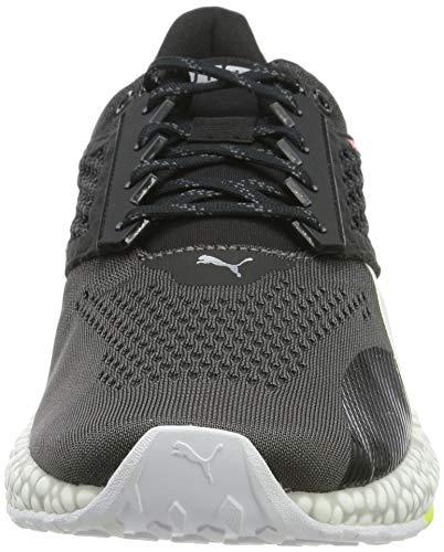 PUMA Hybrid Astro, Zapatillas de Running para Hombre - Gris (Castlerock-Puma Black-Nrgy Red 01) - 41 EU