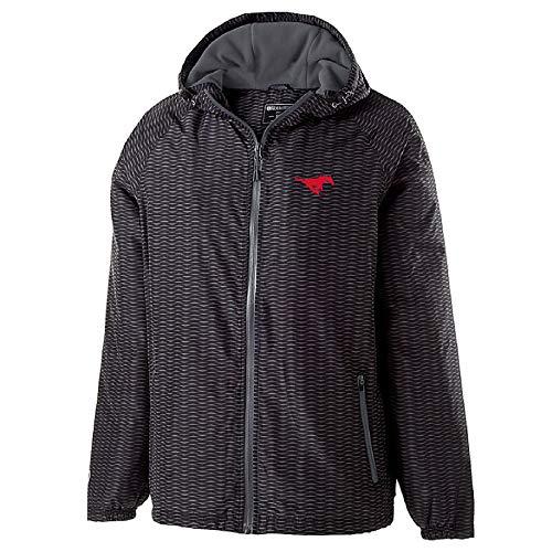 Ouray Sportswear NCAA SMU Mustangs Youth Range Jacke, Jacke für Jugendliche., carbon, Größe S