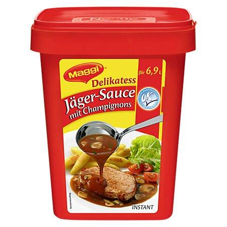 Maggi Delikatess Jäger-Sauce mit Champignons 6x 800 g