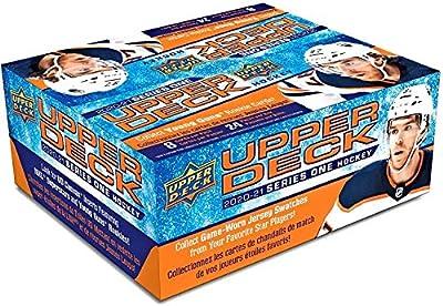 2020/21 Upper Deck Series 1 Hockey Retail Box