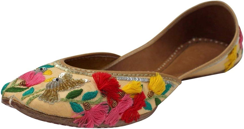 Step n Style Bridal Flats Wedding shoes Indian Designer shoes Punjabi Jutti Flat Mojari