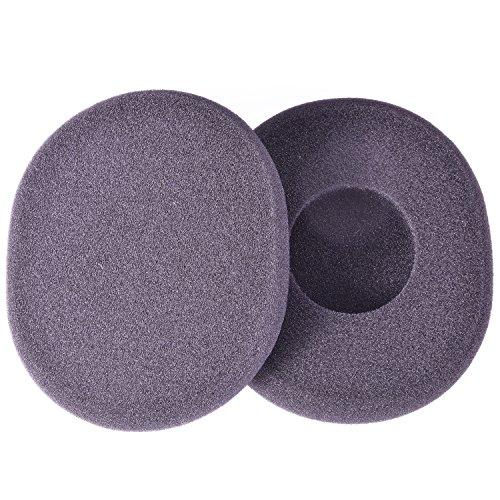 IT-Services Irro 1 Paar Ersatz-Ohrpolster passend für Logitech H800 Kopfhörer/Headset, Farbe: Schwarz