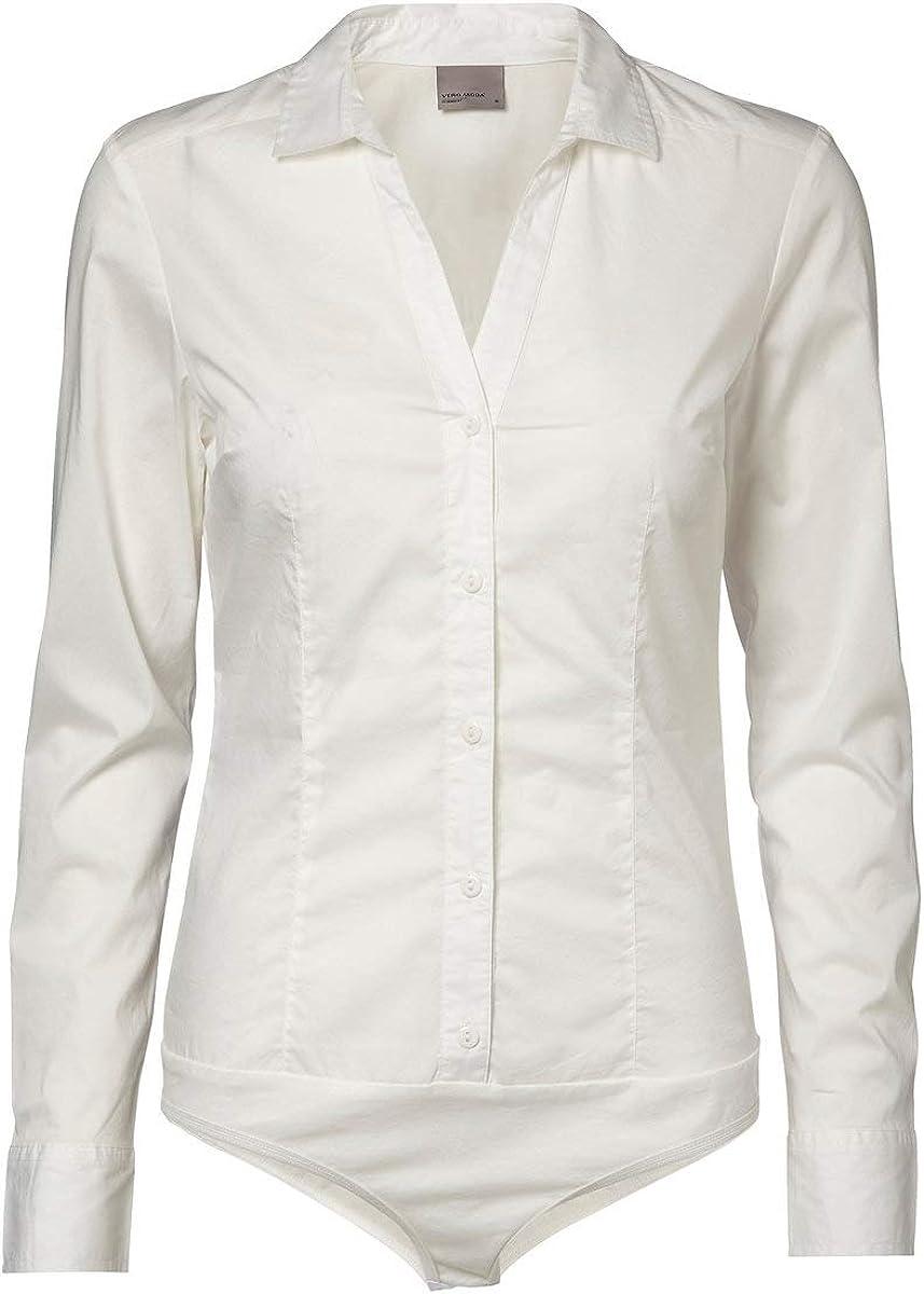 Vero Moda Vmlady L/S G-String Shirt Noos Blusas para Mujer