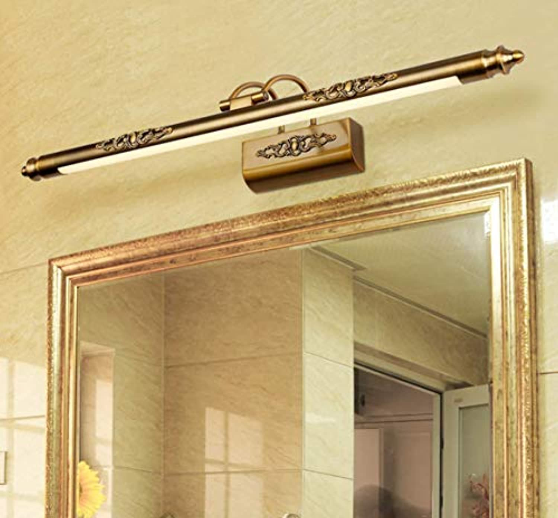 WIVION Led Spiegel Scheinwerfer Bad europischen Spiegel Schrank Lampe Spiegel Scheinwerfer schminktisch Lampe Bad Spiegel Schrank licht, Moderne einfache led Spiegel Lampe,8w