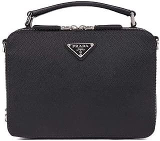 Luxury Fashion | Prada Mens 2VH0699Z2F0002 Black Messenger Bag | Fall Winter 19