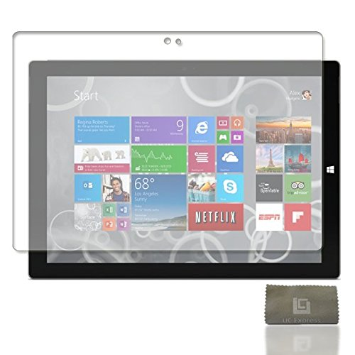 4X Pellicola Protettiva per Microsoft Surface Pro 3Proteggi Schermo Pellicola trasparente di UCE