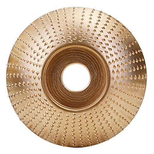 RYEOK Lavorazione del legno Legno Mola Smerigliatrice Carving Utensile rotante Disco abrasivo Per smerigliatrice angolare Carburo di tungsteno Rivestimento Alesaggio