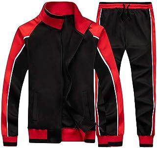 Litteking Men's Tracksuits Sweat Suit Casual Long Sleeve 2 Piece Outfit Sports Jogging Suits Set