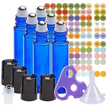 Best essential oil rollerball bottles Reviews