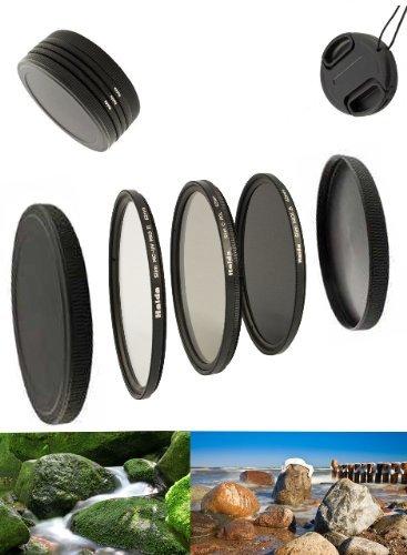 Digital Slim Filter Komplettset Pro für 37mm Objektive - Slim UV MC Pro II - Slim Zirkular Polfilter - Slim ND64 Neutral Graufilter + Bonus