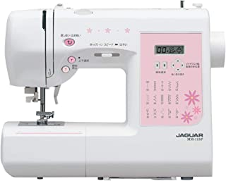 JAGUAR コンピュータミシン 液晶ディスプレイ画面付 自動糸調子付 高性能モデル MM-115P(N)