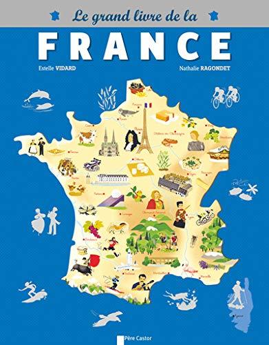 Le grand livre de la France: 12 CARTES THEMATIQUES POUR VOIR LA FRANCE AUTREMENT (Castor doc)