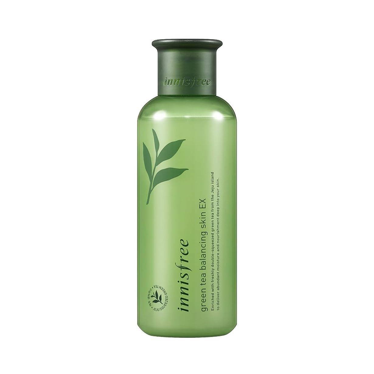 精度有利印象的なイニスフリー日本公式(innisfree) グリーンティー バランシングスキン[化粧水]200mL