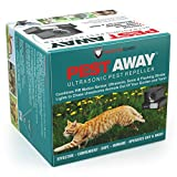 PREDATORGUARD PestAway Ultrasonic Outdoor Animal & Cat Repeller with Motion Sensor Stops Pest