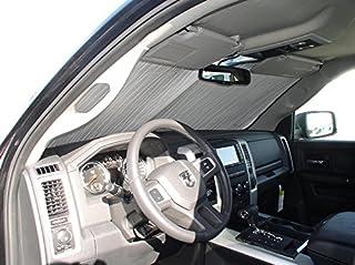HeatShield, The Original Windshield Sun Shade, Custom-Fit for Ram 1500 Truck 2010-2018, Silver Series