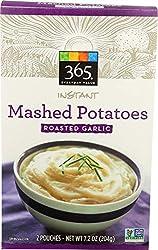 365 Everyday Value, Instant Mashed Potatoes, Roasted Garlic, 7.2 oz